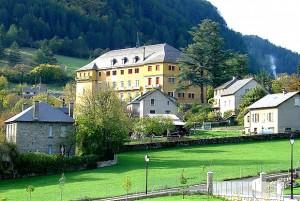 Bourg de CHANAC en Lozère